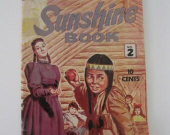 1958 Sunshine Book No 2 - A Magazine Wonderland for Boys and Girls