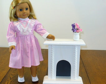 American Girl Doll Furniture / Fireplace for your American Girl Doll House