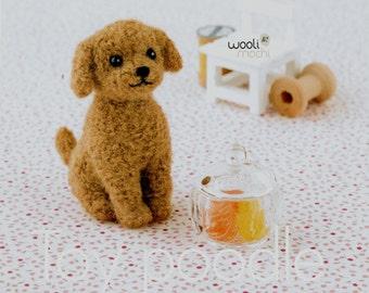 Miniature Toy Poodle Needle Felting Kit