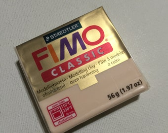 FIMO Classic Polymer Clay - 02 Champagne - 56g Single Block