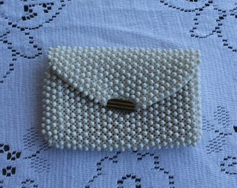 Cord Bead Change / Coin Purse