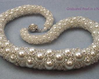 TUTORIAL Graduated pearl in a net