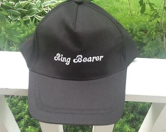 Ring Bearer baseball hat