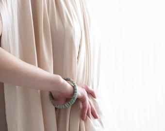 Jewelry Set, Cuff bracelet, Bridal Jewelry Set, Earrings, OOAK pendant, Necklace