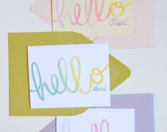 Hello There! Greeting Card