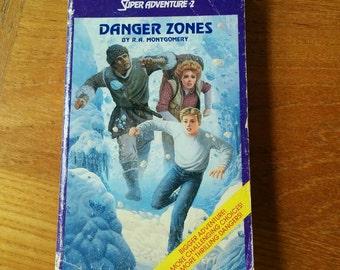 Rare Choose Your Own Adventure Super Adventure #2 Danger Zones Vintage 80s