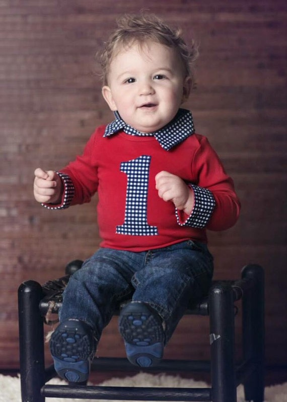 Baby Boy First Birthday Outfit Cake Smash Outfit Boy Blue