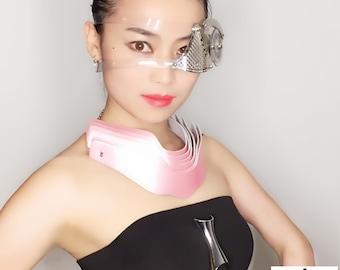 Hi Tek Alexander modern steampunk eye patch monocle accessory