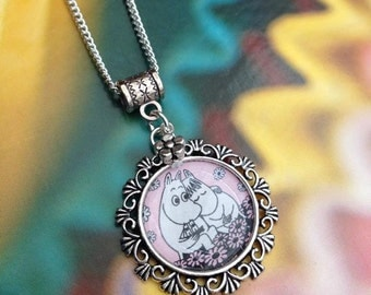 Cute Moomin Necklace