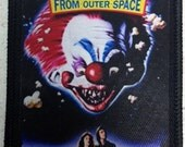 Killer Klowns From Outer Space patch 80's horror sci-fi comedy