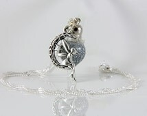 Wishes Necklace,Terrarium Necklace, Fairy Dust Necklace, Vial Necklace, Fairy  Necklace, Fairy Jewelry, Moon Necklace, Fairy