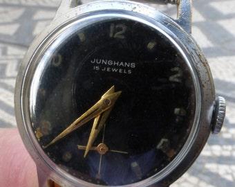 Junghans 15 Jewels  vintage men gents watch. J93S