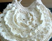 Casual Textured Crochet Shoulder Bag 59