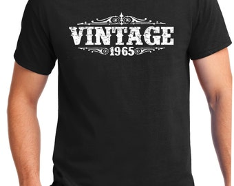 VINTAGE 1965 Shirt, Tee  for son, T-Shirt, Gift for Him, Great gift, Brother