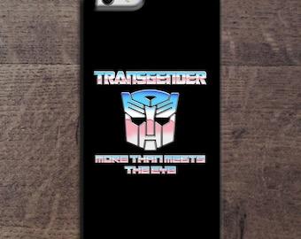 Transgender transformer phone case