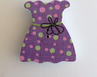 Wooden Dress Needle Minder
