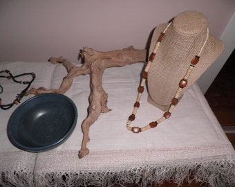 Bone and Wooden Necklace