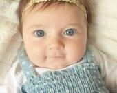 Gold headband, baby halo headband, baby gold headband, silver headband, vine headband, gold headband, boho headband