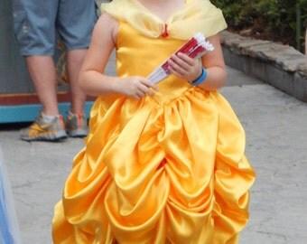 Belle Inspired Easy wear Gown