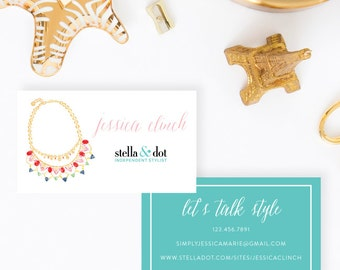 Stella & Dot Personalized Business Cards