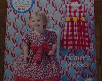 Toddler's Dresses Pattern,ellie mae designs from Kwik Sew