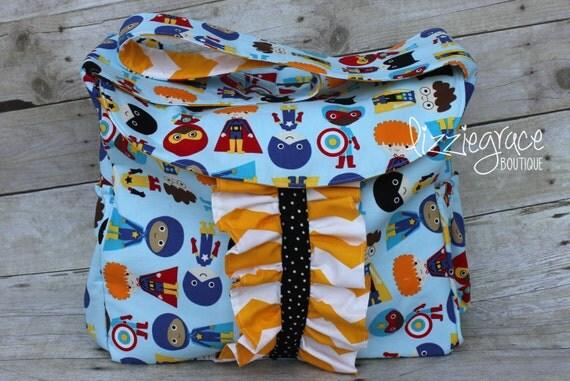 custom diaper bag large diaper bag messenger bag choose. Black Bedroom Furniture Sets. Home Design Ideas