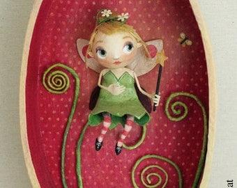 "Oval frame ""Tinkerbell"""