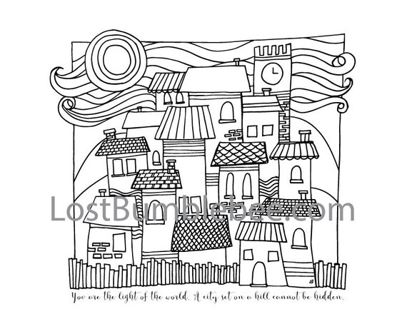 Grown Up Colouring Coloring Sheets Art Therapy Single Sheet
