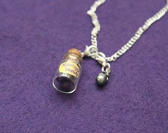 Nightlock berries pendant