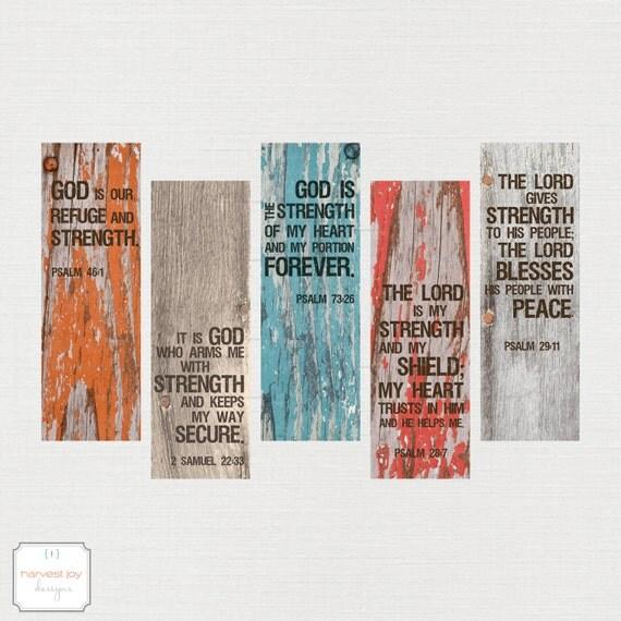 religious bookmark templates - items similar to inspirational printable bookmarks
