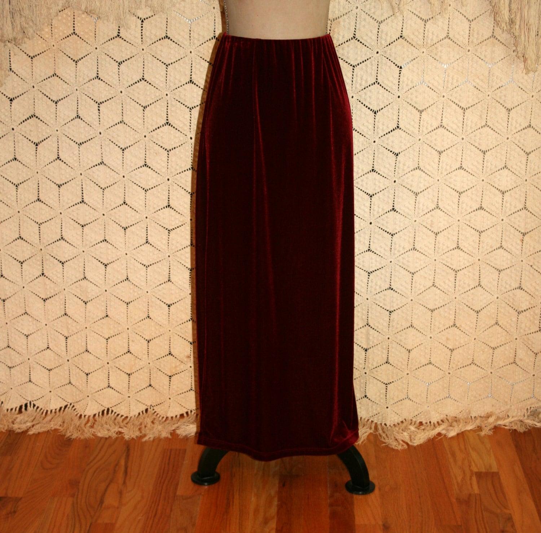 Red Velvet Skirt 101