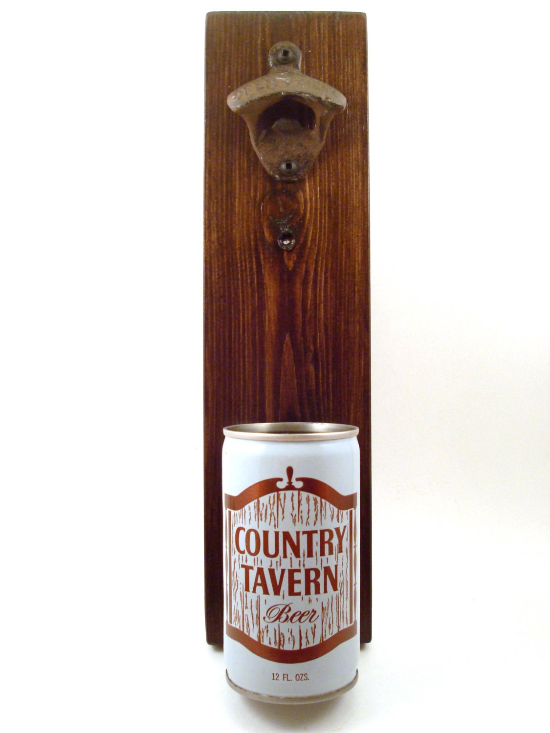 wall mounted bottle opener with a vintage by texastiedyeguy. Black Bedroom Furniture Sets. Home Design Ideas