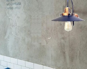 Wall sconce lamp light in industrial restoration style Black Bronze EGST