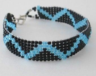 Chevron (Zig Zag) Bracelet