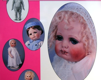 Sculpting & Making A Toddler Doll Head To Toe By Susan Dunham Paperback Doll Making Book 1996