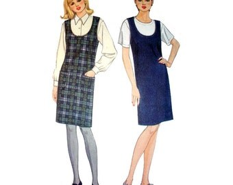 Women's Jumper Pattern Misses Size X-Small, Small, Medium, Large, XL Easy to Sew  Uncut Simplicity 7275