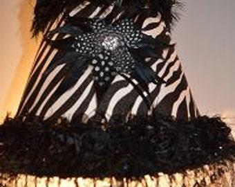 Zebra Lamp Shade Etsy Uk