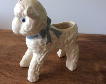 Ceramic Lamb On Etsy A Global Handmade And Vintage