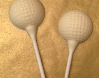 Golf Ball Lollipop