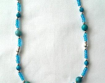 Summer Splash 18.5-inch Pendant Necklace