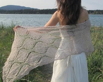beach wedding wrap