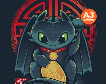 Maneki Dragon - A3 Edition -