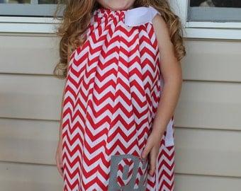 Ohio State Girl's Dress - Ohio State Toddler Dress - Ohio State Girl's Pillow Case Dress - Ohio State Children's Clothing