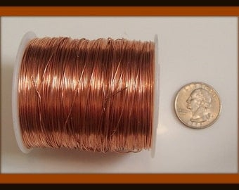 Dead Soft 20, Copper Wire, 20 Gauge Round Wire, Dead Soft from ...