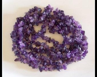 Amethyst-Amethyst gemstone chips-Natural Amethyst chips- Amethyst stones-beading supplies-jewelry supplies-destash stones-jewelry nuggets