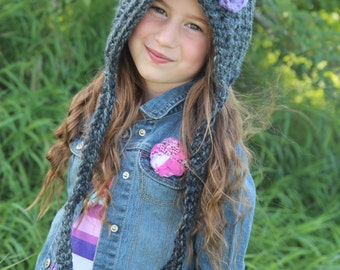 Pixie Hat, Gnome Hat, Fall Fashion, Child's Hat,