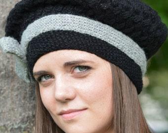 AC0056  Hat Boina - 100% Baby Alpaca