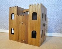 Wooden Toy Castle, Play Castle, Pretend Play, Knight's Castle