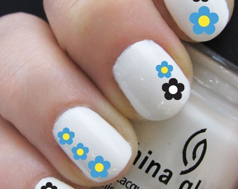 Nail Decals - Flower Design - Water Nail Decal Nail Art