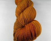 The Last Centurion: 400 yards 100% Superwash Merino fingering weight yarn ine Elemental yarn base.